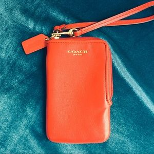🦎 COACH Red Wallet NWOT 🦎